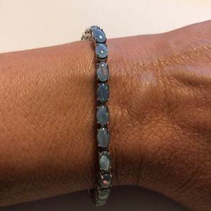 JTV Opal Tennis Bracelet NWOT